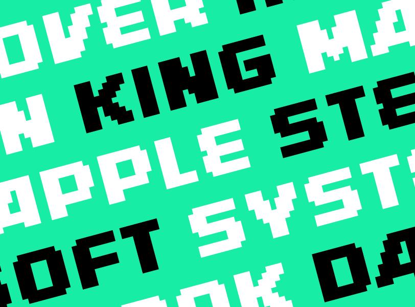 Naperom Typeface